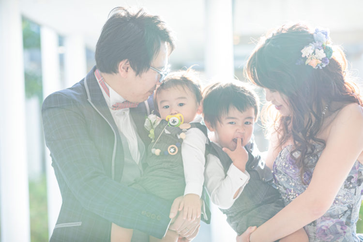 ★Familiy Wedding★<br>感動からほっこりまで<br>♡家族4人で挙げる結婚式♡