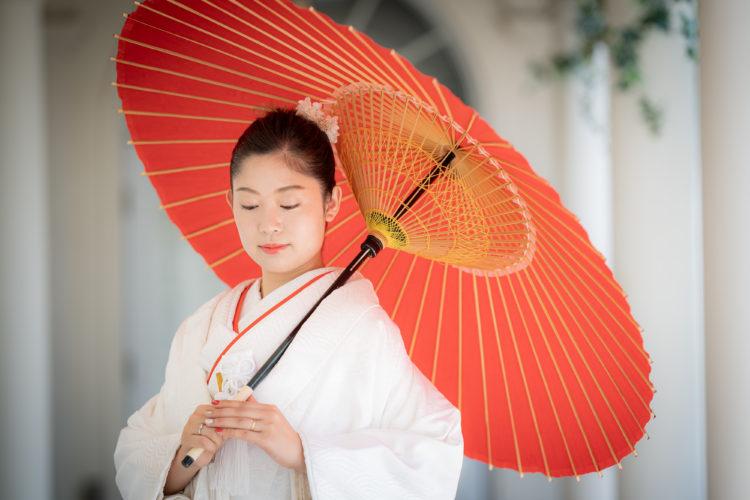 【挙式+フォトウェディング】<br>~*日本の伝統*~<br>撮影場所:パーティ会場エミリオ